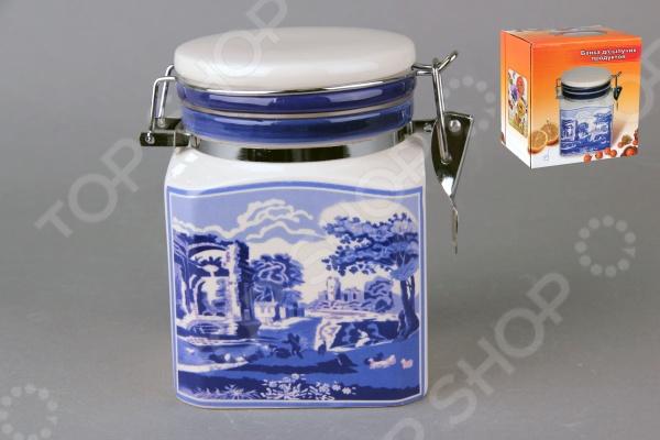фото Банка для хранения сыпучих продуктов Коралл HC5D37-K9 «Старый замок», Хранение продуктов
