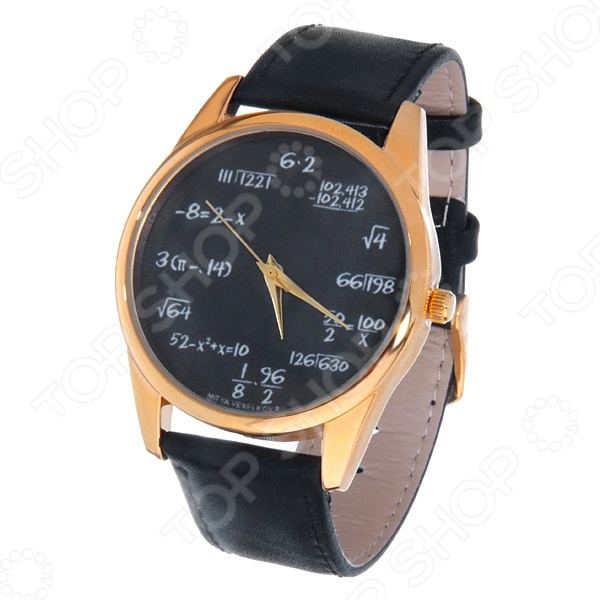 Часы наручные Mitya Veselkov «Грифельная доска» Gold