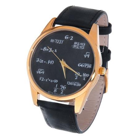 Купить Часы наручные Mitya Veselkov «Грифельная доска» Gold