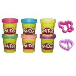 фото Пластилин Hasbro A5417 Play-Doh с блестками