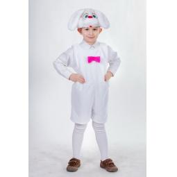 фото Костюм карнавальный для мальчика Карнавалия «Зайчик белый»
