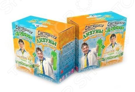 Набор для изготовления лизунов и червячков Инновации для детей «Светящиеся червяки и лизуны» набор для изготовления мыла инновации для детей мыльная мастерская тропический микс 744