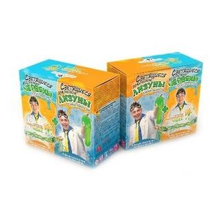 Купить Набор для изготовления лизунов и червячков Инновации для детей «Светящиеся червяки и лизуны»