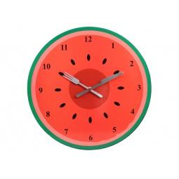 фото Часы настенные POMIDORO «Сочный фрукт». Рисунок: арбуз