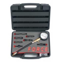 Купить Компрессометр для бензиновых двигателей с насадками Force F-909G1