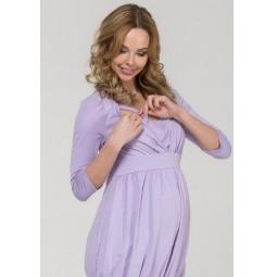 Купить Туника для беременных Nuova Vita 1514.3. Цвет: лиловый