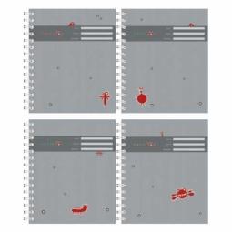 фото Тетрадь в клетку на спирали лакированная Erich Krause «Все параллельно»