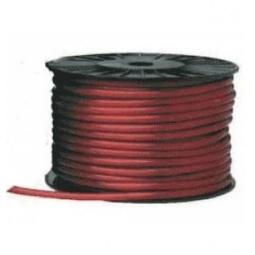 Купить Силовой кабель плюсовой Mystery MPC-04. Цвет: красный. Сечение: 8 Ga. Длина: 100 м. Уцененный товар