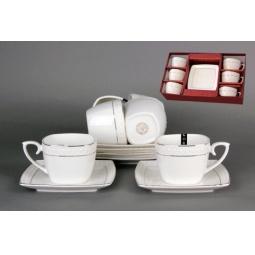 Купить Сервиз кофейный Коралл LQ507006-A «Снежная королева»