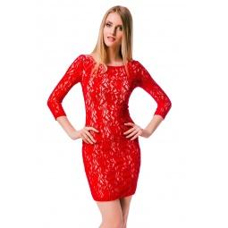 фото Платье Mondigo 7031. Цвет: темно-синий. Размер одежды: 44