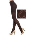 Купить Колготки фантазийные Burlesco R52165. Цвет: коричневый