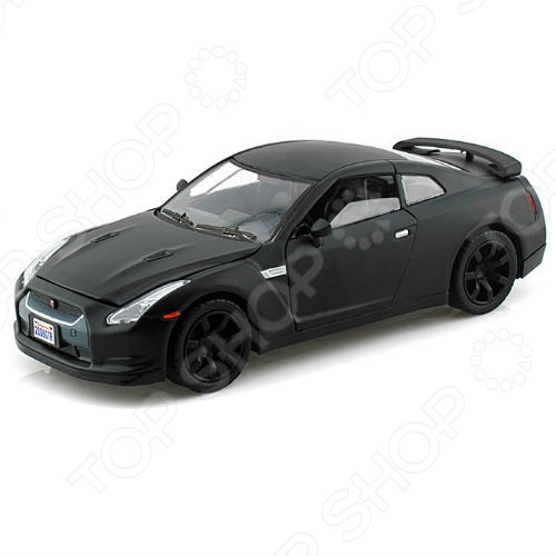Модель автомобиля 1:24 Motormax Nissan GTR 2008 for nissan gtr gtr r35 led tail lights 2007 red