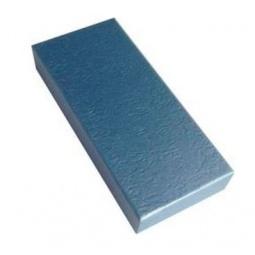 фото Коробка подарочная Феникс-Презент «Голубой». Размер: M (12х5,2 см). Высота: 2 см