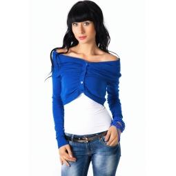 фото Болеро Mondigo 9433. Цвет: синий. Размер одежды: 42