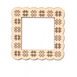 фото Фоторамка деревянная для изготовления магнита RTO «Вышивка»