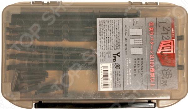 Коробка рыболовная Yamada Tough Case L212 SlimСопутствующие товары для рыбалки<br>Коробка рыболовная Yamada Tough Case L212 Slim полезное дополнение для снаряжения любого рыболова. Чемоданчик из ударопрочного пластика легко вместит в себя все необходимые аксессуары и инструменты. Укомплектованные перекладины помогут пользователю определить нужное положение секций в емкости для удобного размещения изделий. Прозрачная крышка позволит, не открывая коробку, рассмотреть ее содержимое. Крышка ящика надежно закрывается при помощи замочка, поэтому можете не беспокоиться за сохранность своих рыболовных аксессуаров.<br>