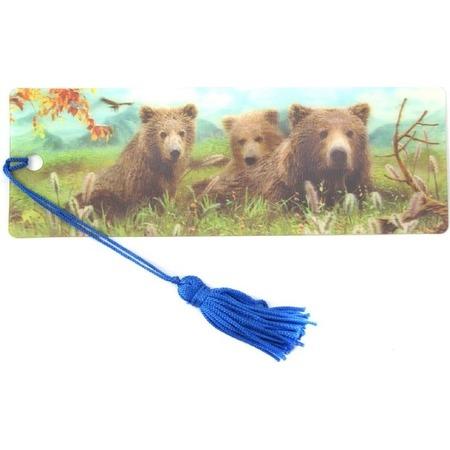 Купить 3D-закладка для книг Липуня «Медведи»