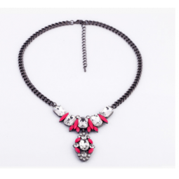 Купить Колье Milana Style «Розовая пантера»