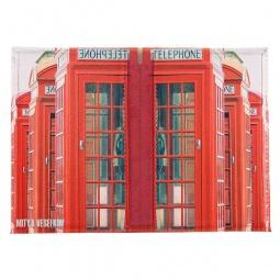 фото Обложка для паспорта двухсторонняя Mitya Veselkov «Телефонная будка»