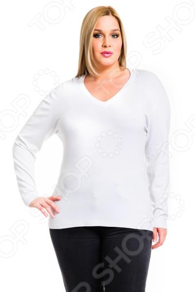 Джемпер Mondigo XL 9131. Цвет: белый