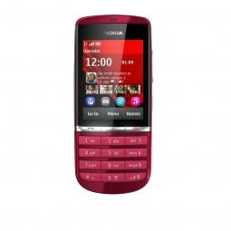 фото Мобильный телефон Nokia 300 Asha. Цвет: красный