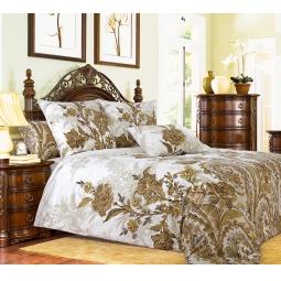 фото Комплект постельного белья Королевское Искушение «Музей». 2-спальный. Цвет: белый