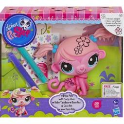 фото Игрушка-раскраска Hasbro A6266 «Обезьянка Минка Марк»