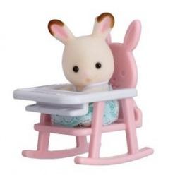 фото Набор игровой Sylvanian Families 5197 «Кролик в детском кресле в пластиковом сундучке»