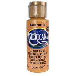 фото Краска акриловая DecoArt Премиум Americana. Цвет: ириска