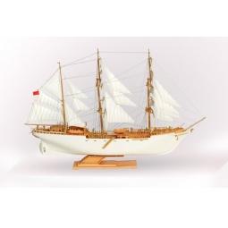 фото Сборная модель морского судна Огонек «Товарищ» С-178