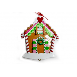 фото Елочное украшение Crystal Deco «Новогодний домик» 1707824