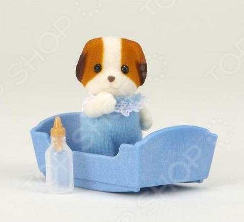 Набор с аксессуарами Sylvanian Families «Малыш щенок» фигурки игрушки sylvanian families набор малыш щенок