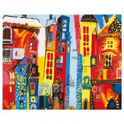 фото Набор для росписи по холсту Росмэн «Город Арт»