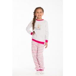 фото Пижама для девочки с принтом Free Age «Принцесса на горошине»
