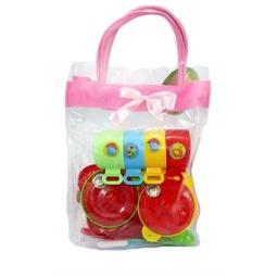фото Набор игровой для девочки Shantou Gepai «Посуда в сумочке» 625353