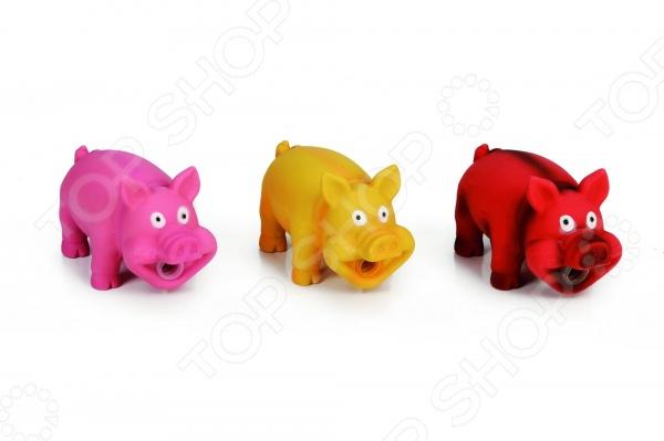 Игрушка для собак Beeztees «Хрюкающие поросята». В ассортименте фигурки игрушки globo поросята 4 шт в упак пвх