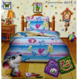 Купить Детский комплект постельного белья Кошки-Мышки Русалочки