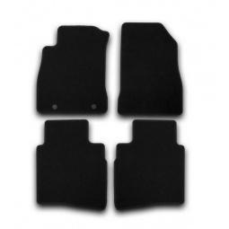 Комплект ковриков в салон автомобиля Klever KIA Sportage 2010 Premium - фото 4