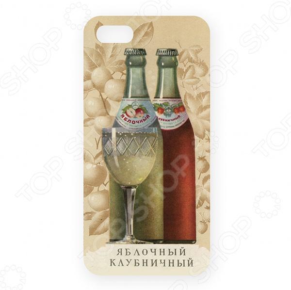 Чехол для iPhone 5 Mitya Veselkov «Яблочный - »