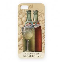 фото Чехол для iPhone 5 Mitya Veselkov «Яблочный - Клубничный»