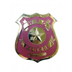 Купить Значок Police Badge pink