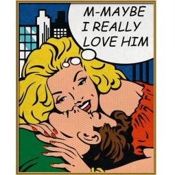 фото Набор для рисования по номерам Schipper «Реальная любовь?»