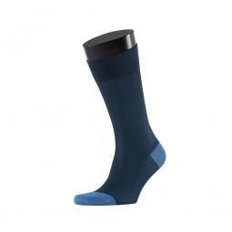 фото Носки мужские Teller Color Toe. Цвет: тёмно-синий