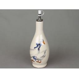 фото Бутылка для масла Rosenberg 8100. Рисунок: гусь