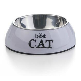 Купить Миска для кошек Beeztees 2in1. Best Cat