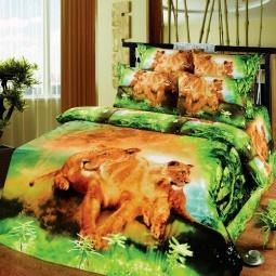 фото Комплект постельного белья АртПостель «Львиная доля». Семейный