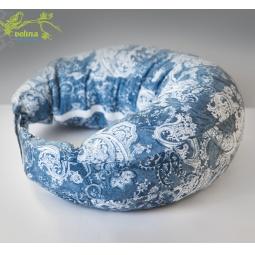 фото Подушка для беременных и кормления Velina на липучке. Рисунок: французские огурцы
