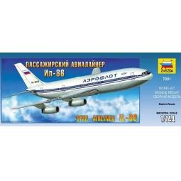 фото Сборная модель Звезда Пассажирский авиалайнер «Ил-86»