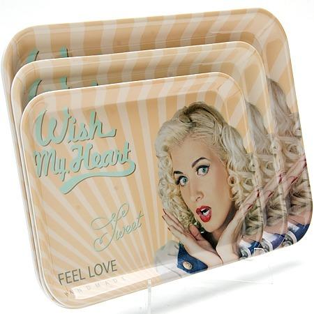 Купить Набор подносов Mayer&Boch MB-24779 Feel Love. Wish My Heart
