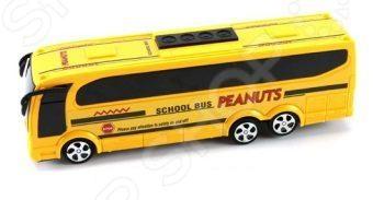 Машинка инерционная Shantou Gepai «Автобус. Школьный»